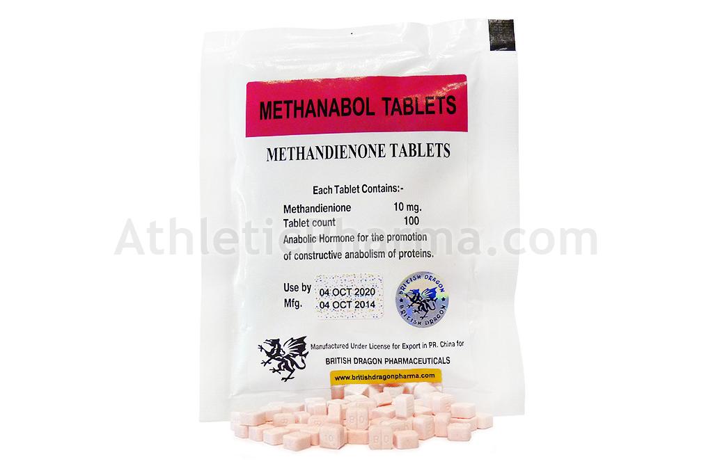 Methanabol Tablets (100tab)